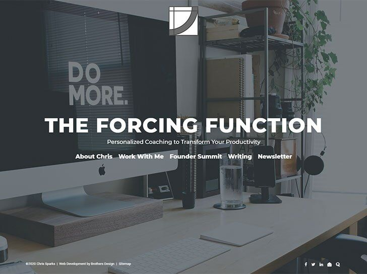 The Forcing Function